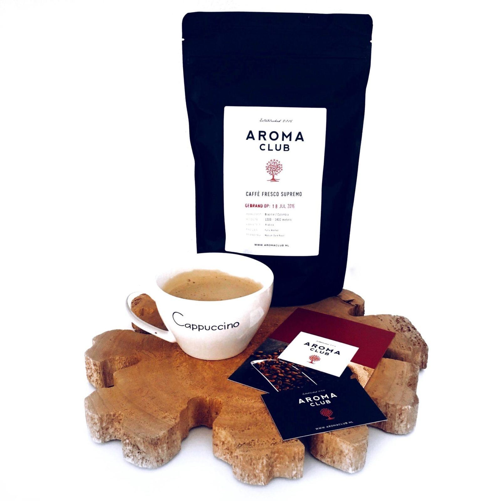 The Aroma Club coffee