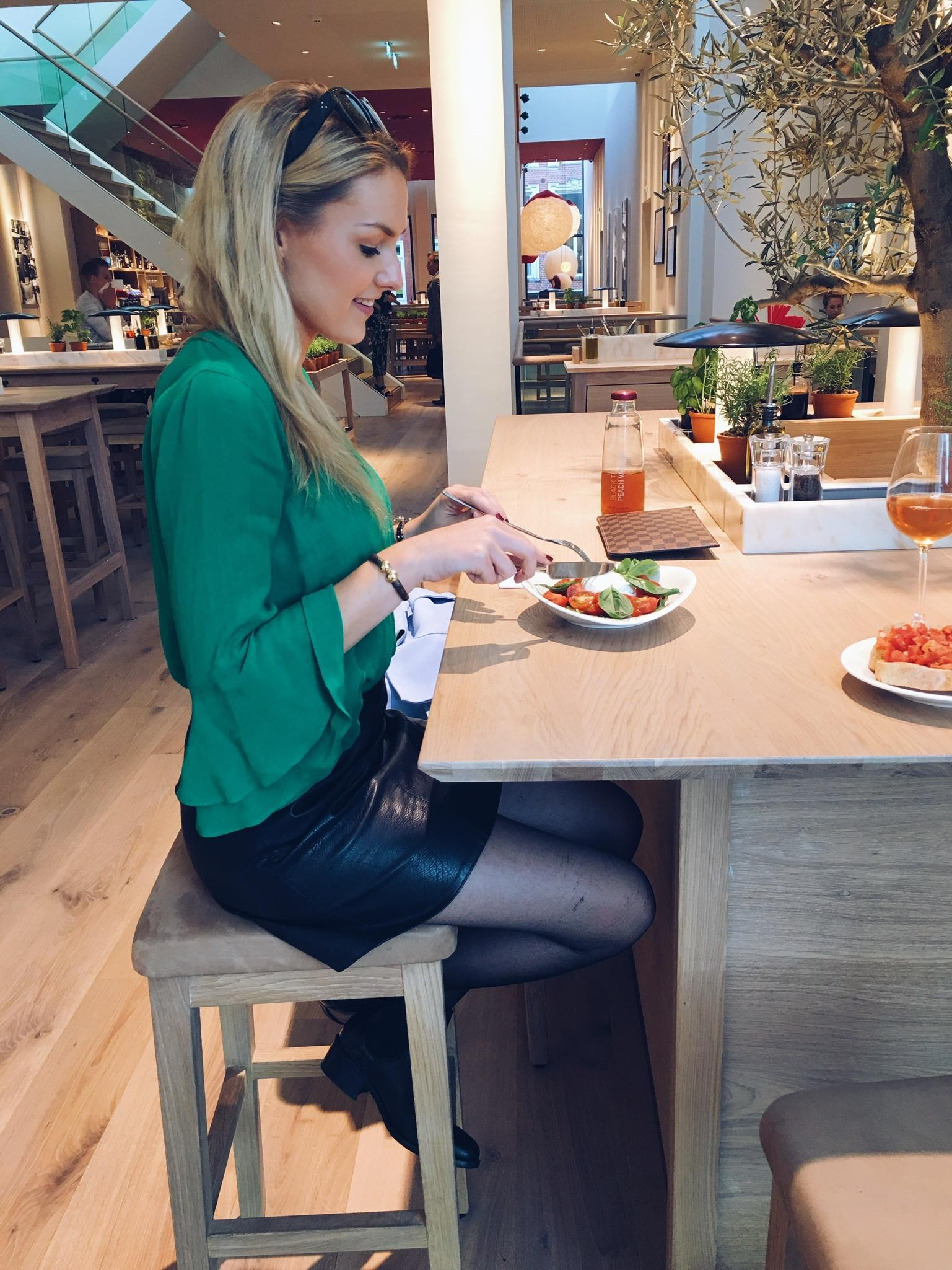 Diner at Vapiano