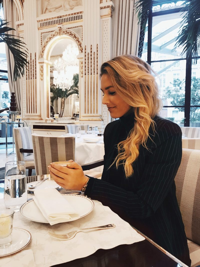 Hotspot #13 Afternoon Tea At The Peninsula Paris