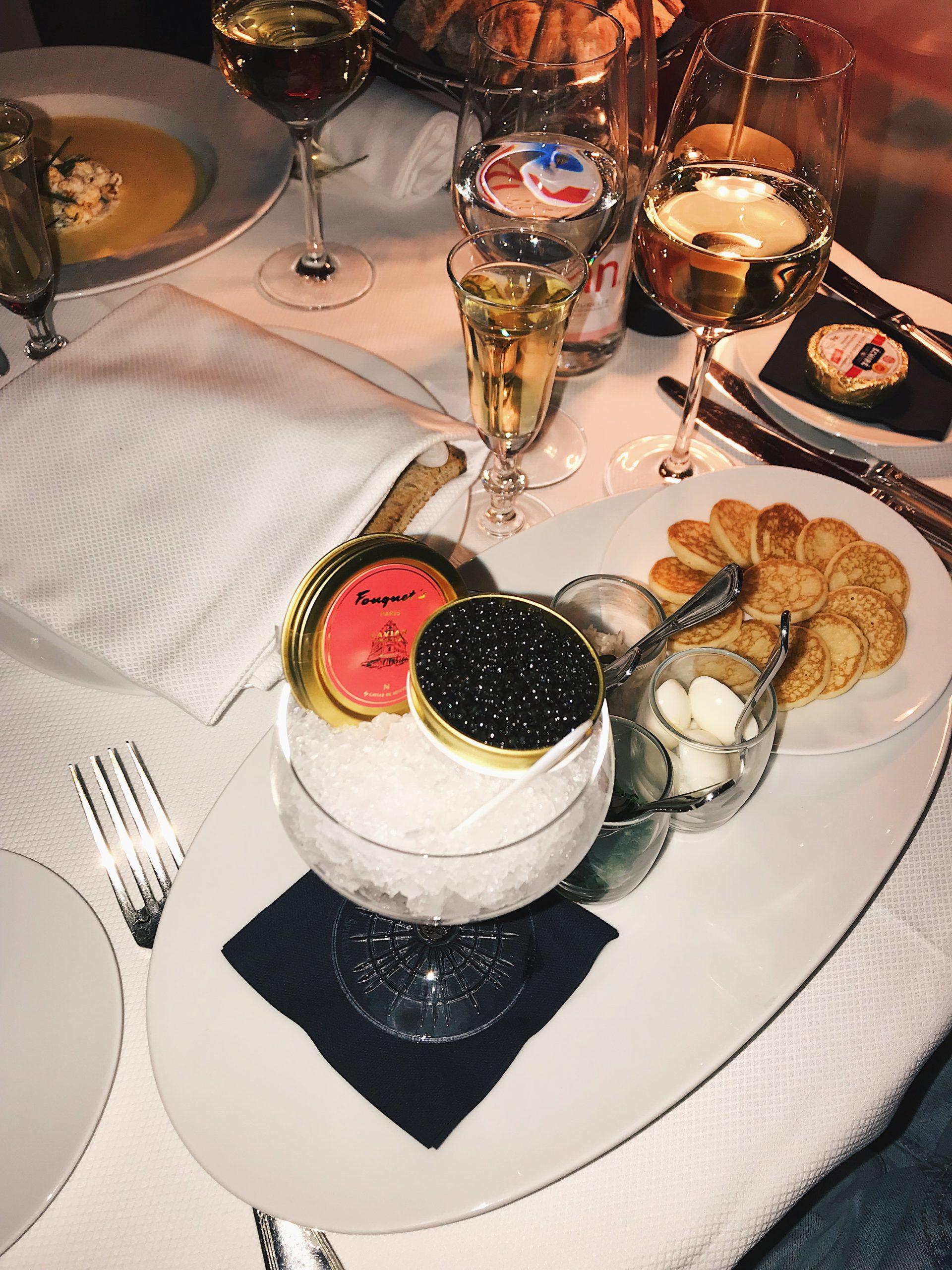 Hotspot #14 Diner At Le Fouquet's Paris