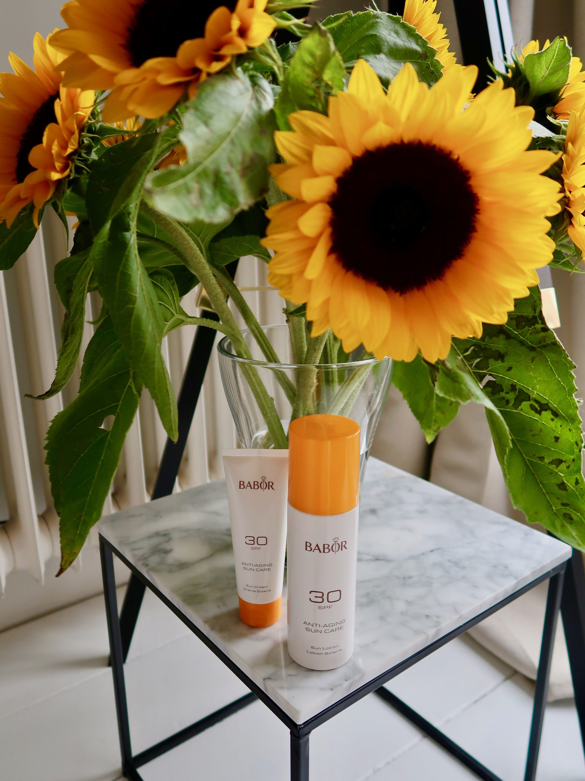 Babor Sun Care Routine